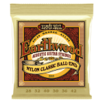 Earthwood Folk Nylon Clear&Gold Ball End