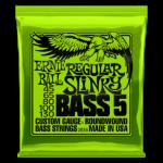 Nickel Wound Regular Slinky Bass 5 String 45-130