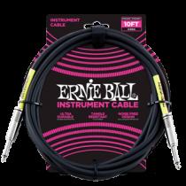 Ernie Ball PVC Hangszerkábel 3m Egyenes