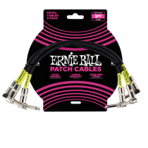 Ernie Ball Patch Kábel 30cm Fekete