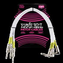Ernie Ball Patch Kábel 46cm Fehér