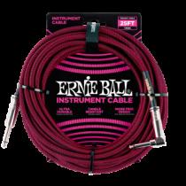 Ernie Ball Szövetkábel Vörös