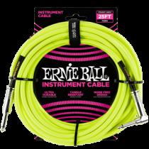 Ernie Ball Szövetkábel Neonsárga